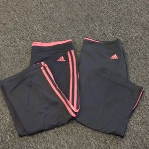 Adidas Active Capri Lot of Two